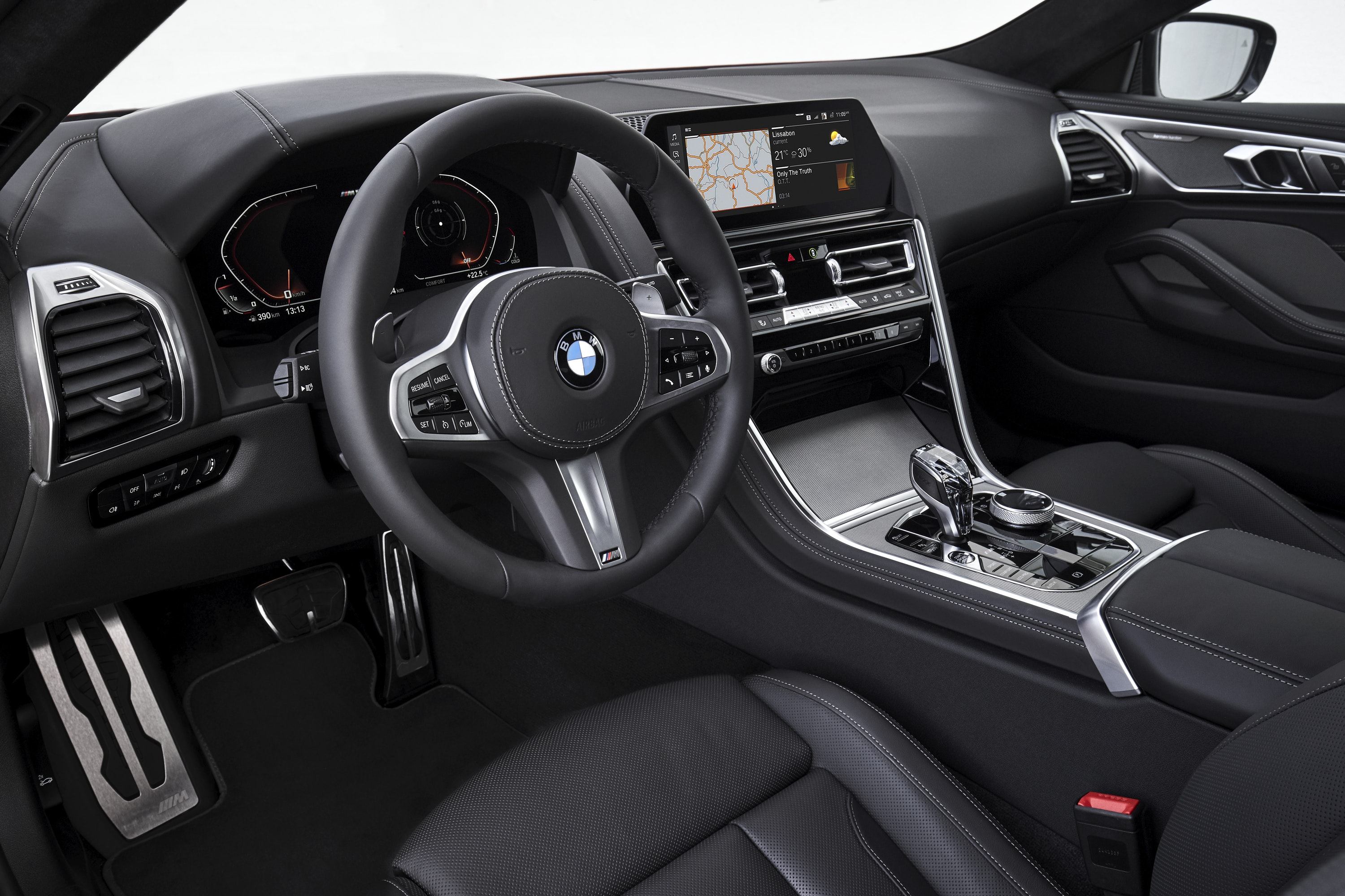 Interior of BMW 8 Series