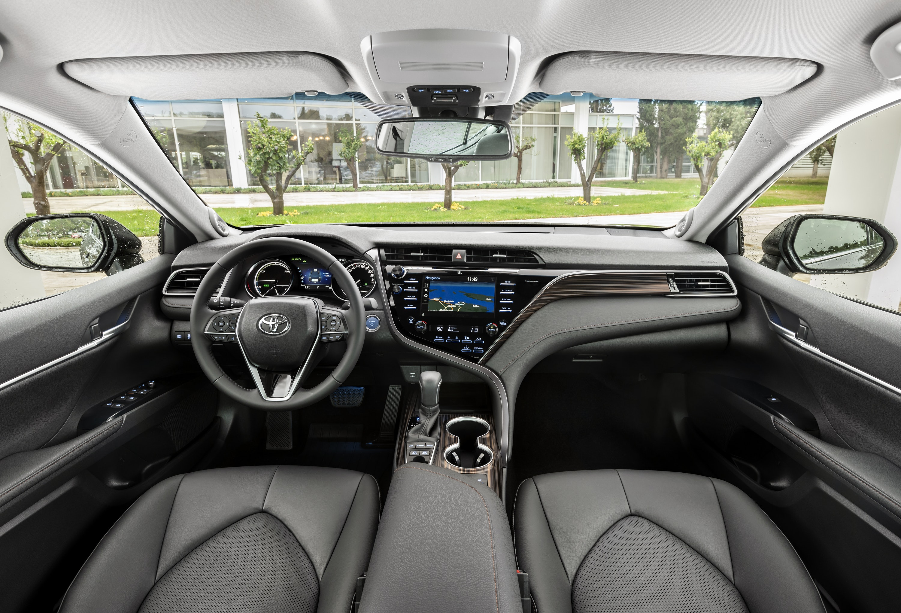 Interior of the Toyota Camry
