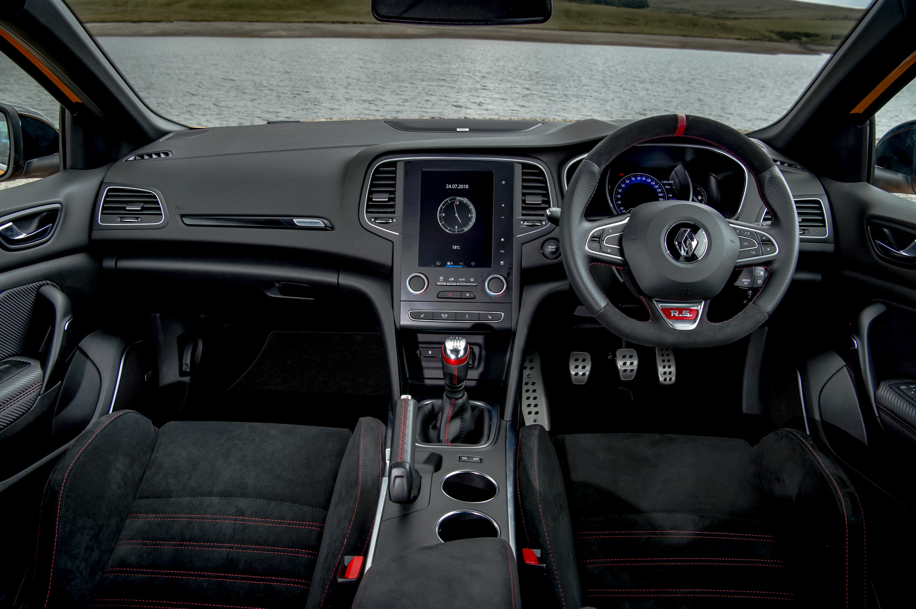 interior of Renault megane