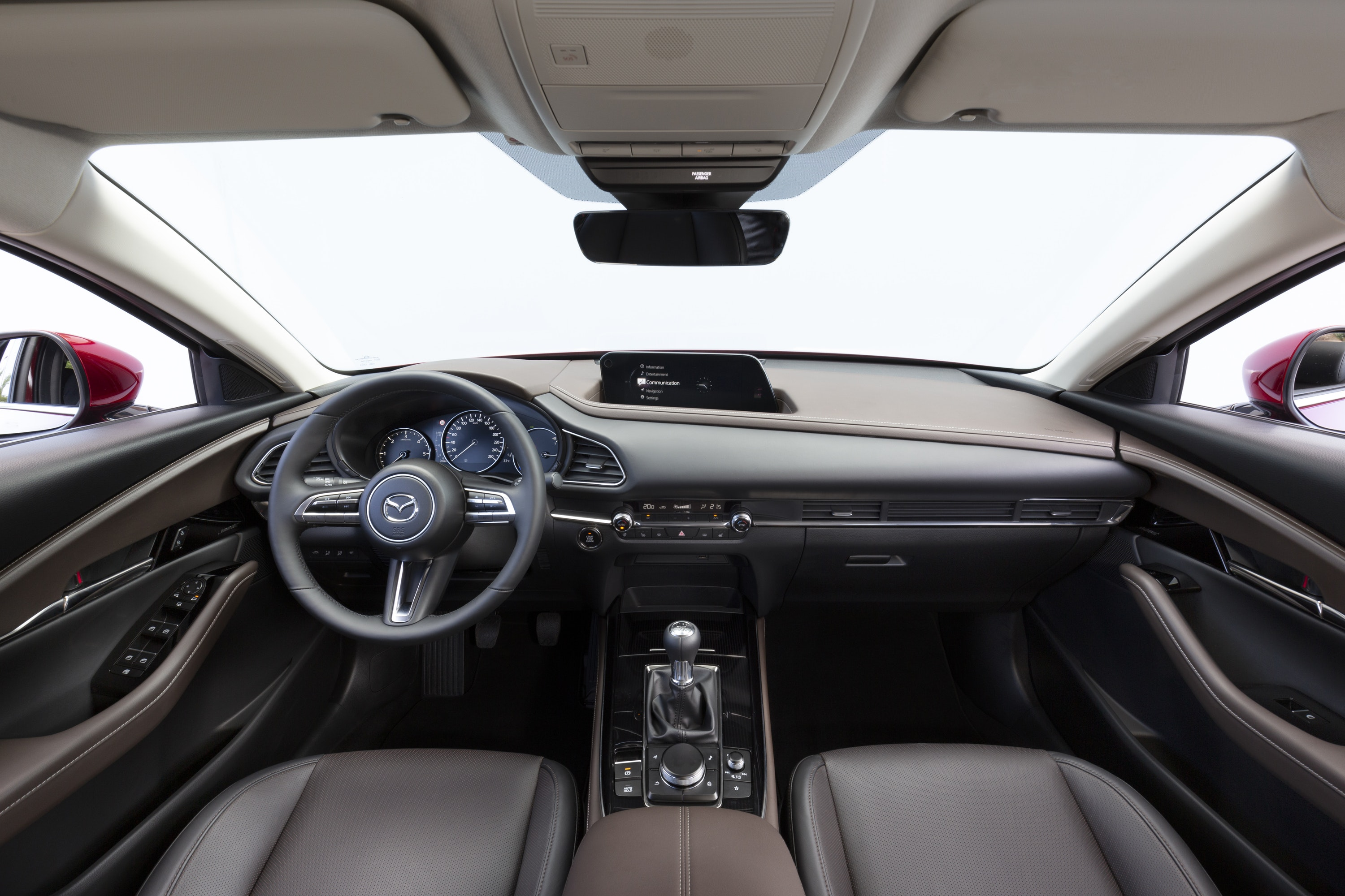 Interior of Mazda CX-30