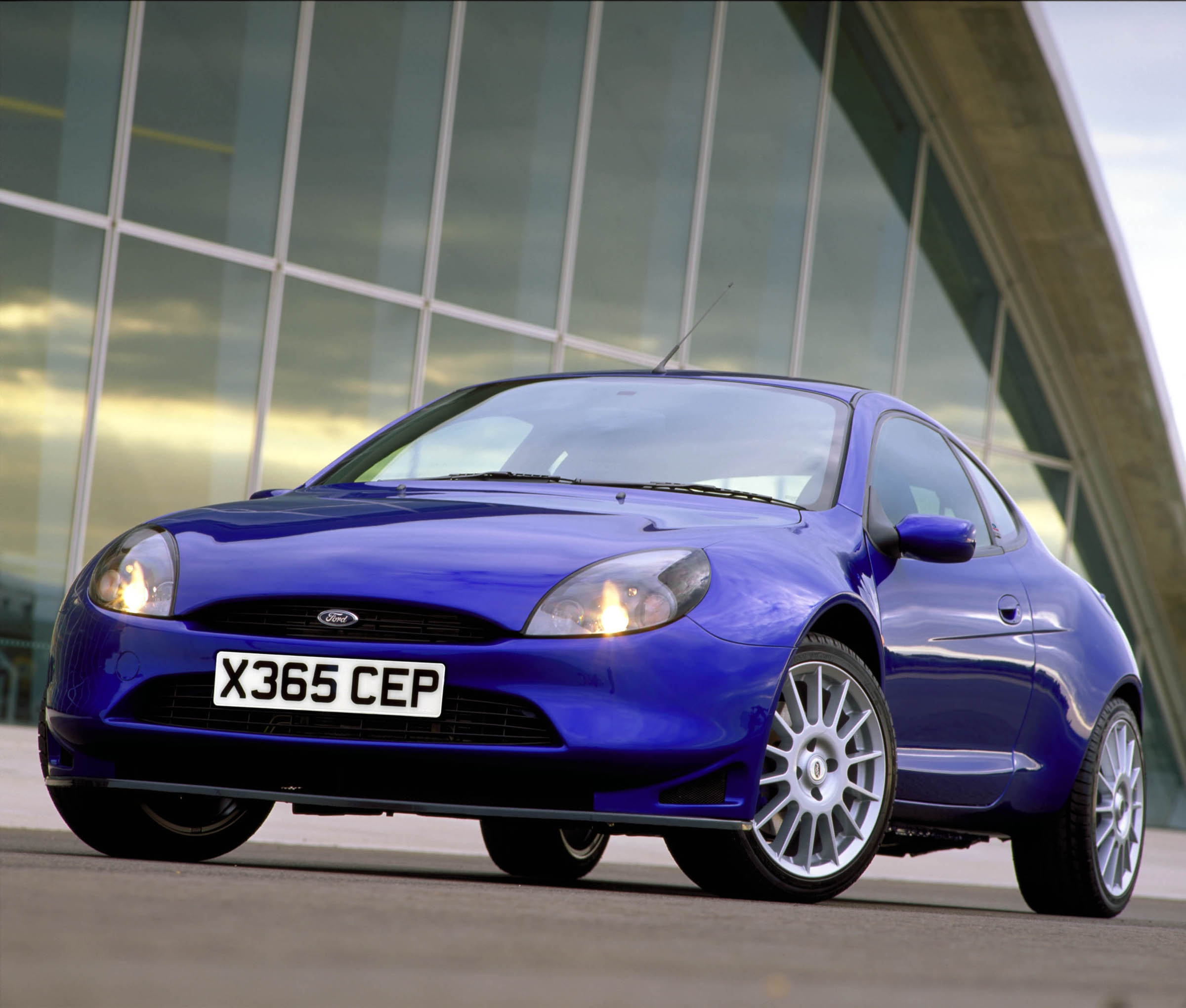Ford Racing Puma in Blue